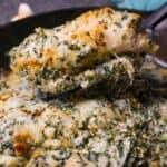 cheesy spinach chicken casserole