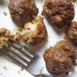 Smoked Gouda Stuffed Meatballs