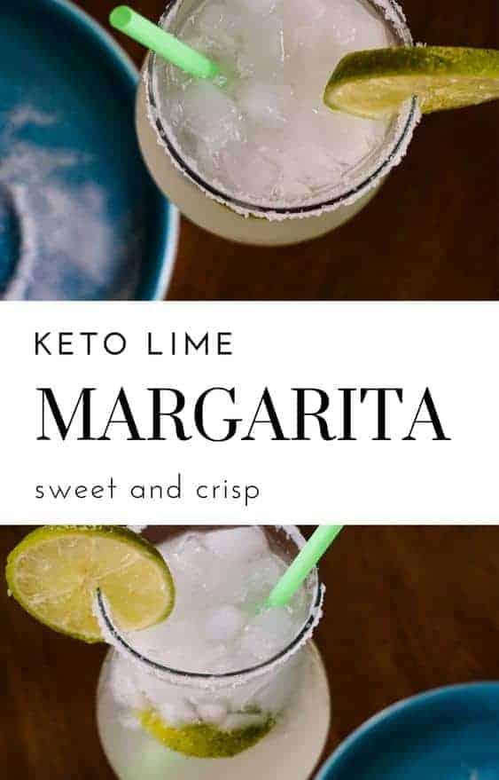 Low Carb Lime Margarita