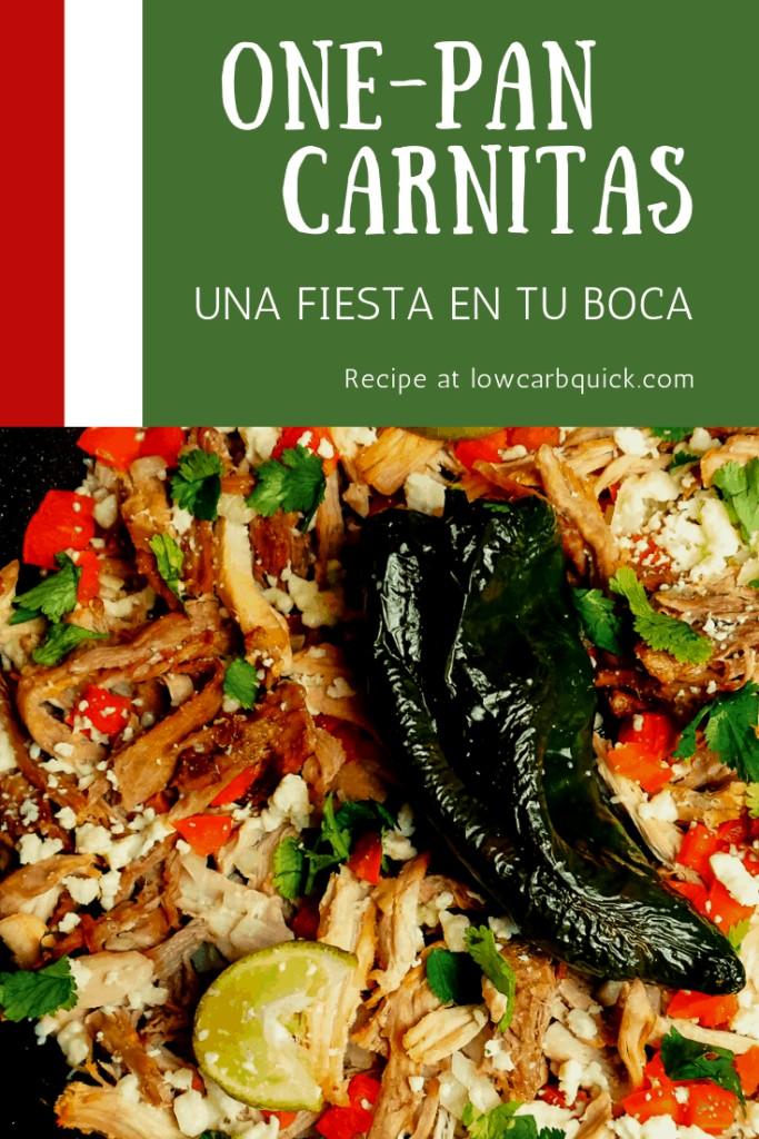 One Pan Carnitas