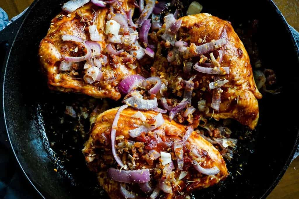 BBQ Bourbon Chicken