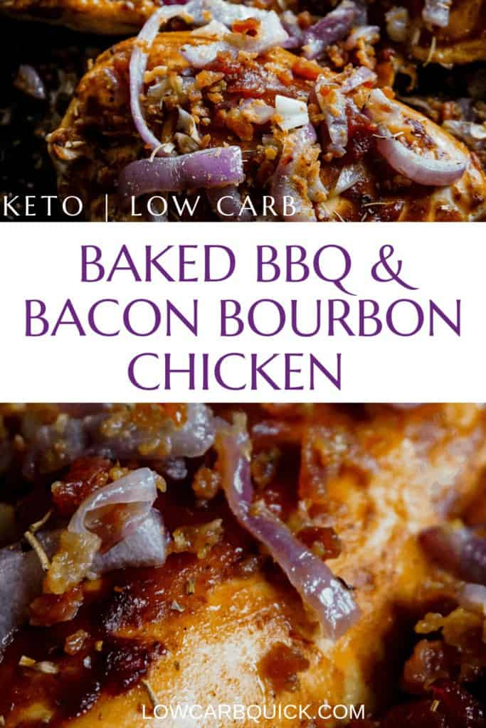 Bourbon BBQ Bacon chicken
