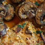 garlic pork and mushrooms