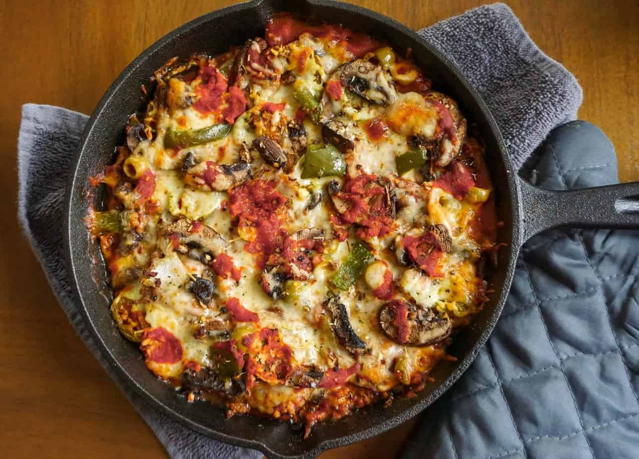 deep-dish pizza casserole