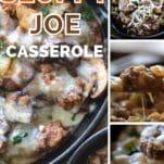 keto sloppy Joe casserole
