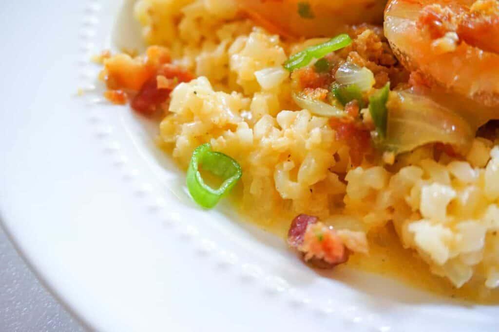 keto shrimp and grits