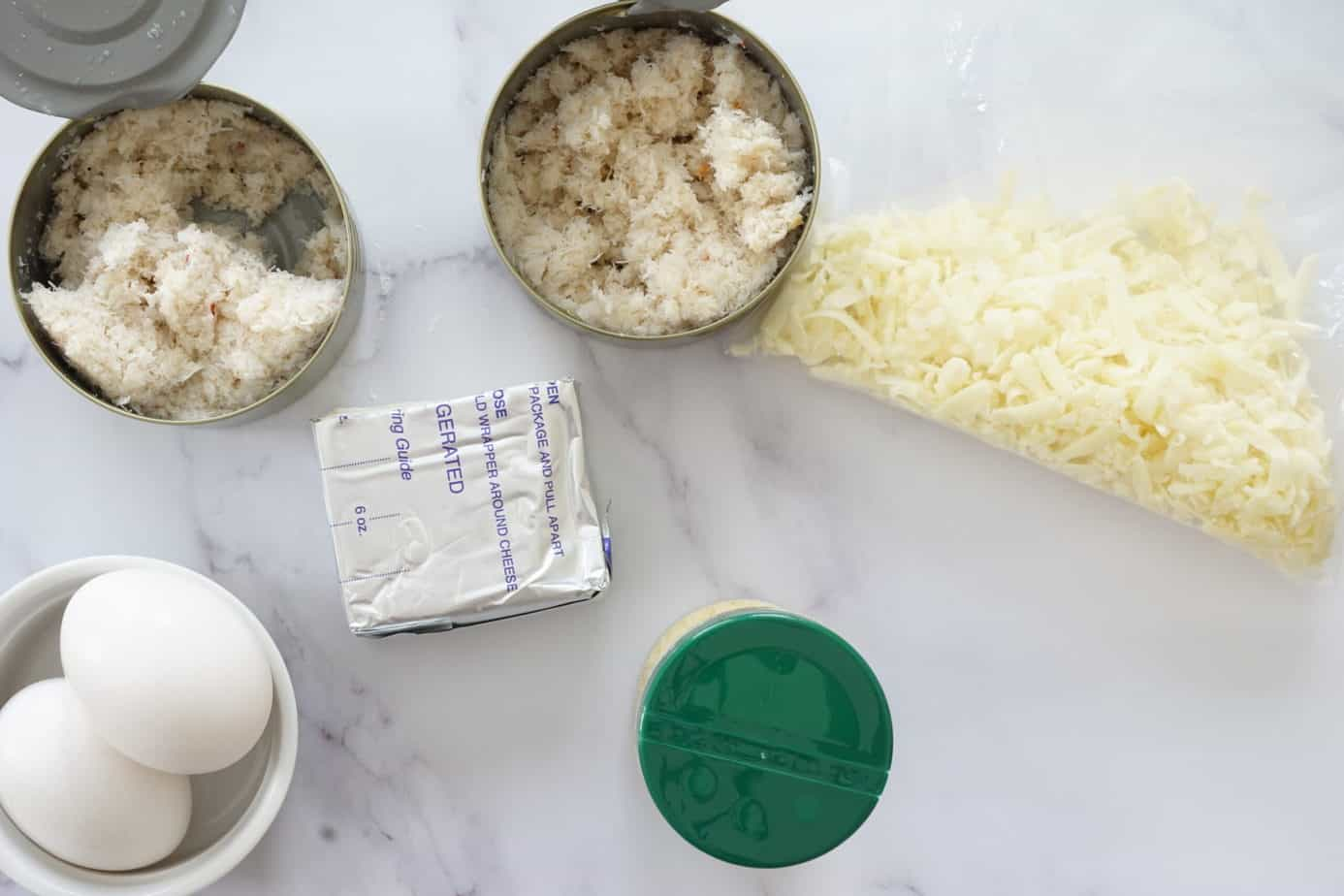 crab rangoon chaffle ingredients