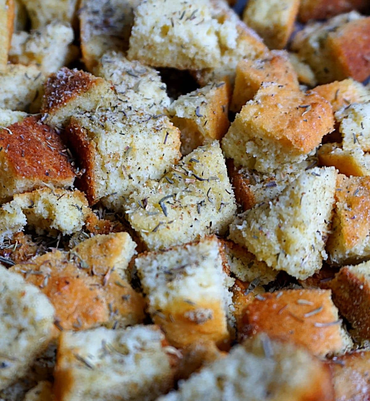 crunchy seasoned croutons for keto diet