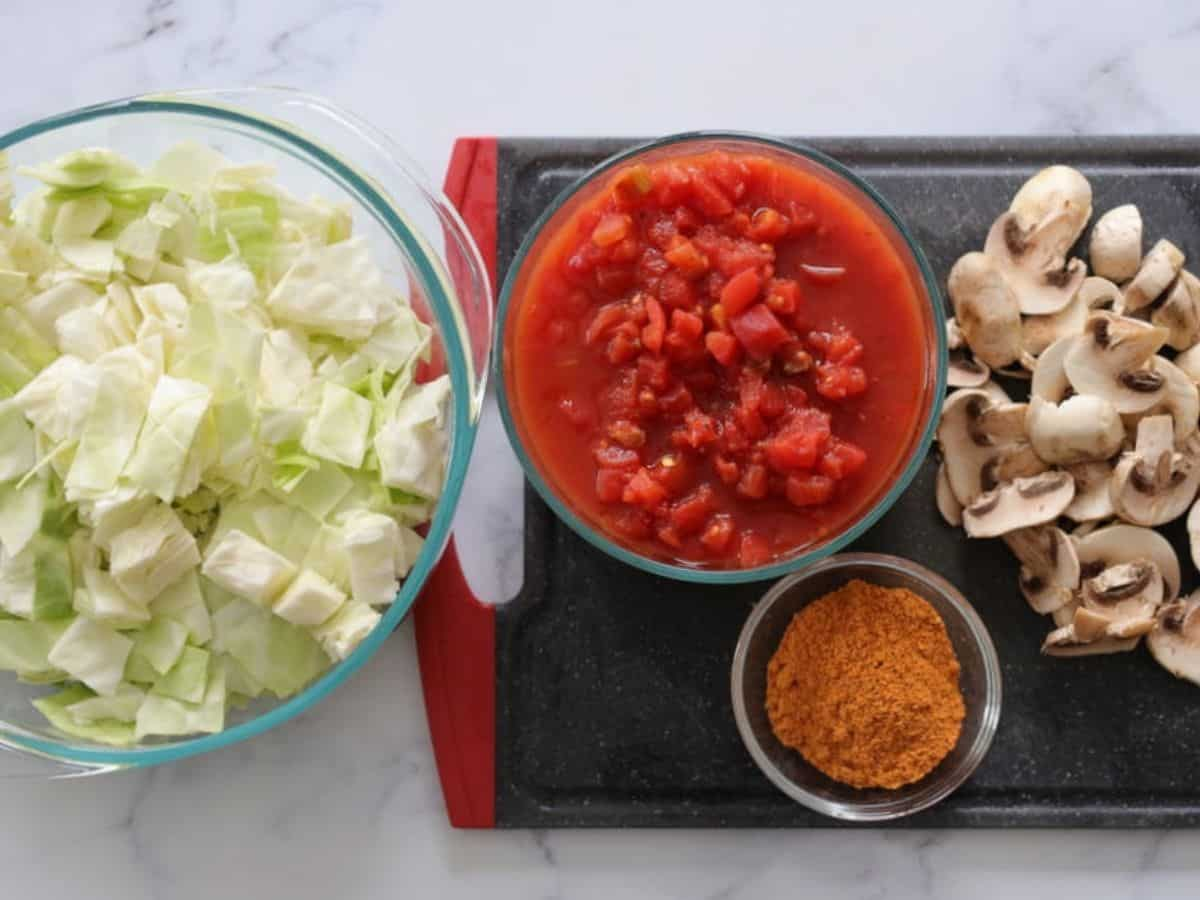 hamburger cabbage soup ingredients for low carb