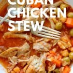 low carb Keto cuban chicken stew