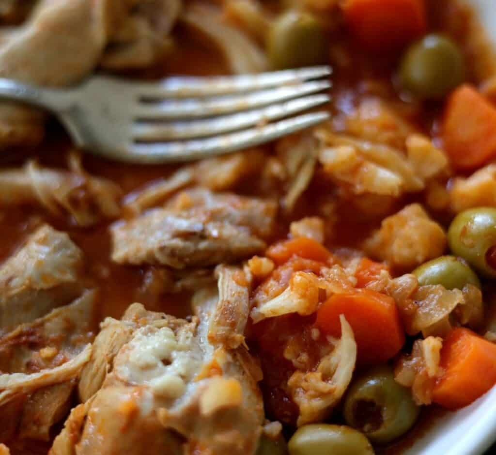 the best chicken stew for low carb