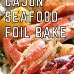 Keto Cajun Seafood Foils