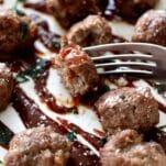 easy keto air fryer meatballs