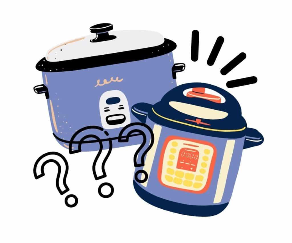 pressure cooker vs slow cooker comparison