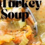 turkey soup instant pot easy